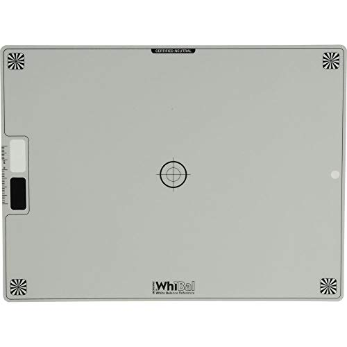 Genuine WhiBal G7 Certified Neutral White Balance Card - Reference Card (7.5'x10')