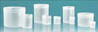 8 Oz. Natural Plastic Jars, No Caps - Bulk (120 Jars) - S-06100080.03S