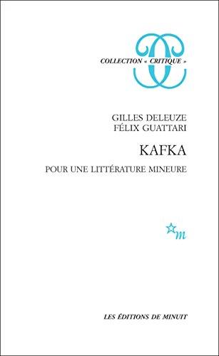 Kafka. Pour une littérature mineure (Critique) (French Edition)