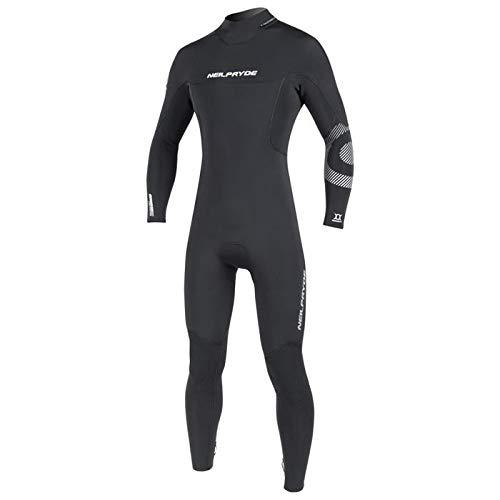 Neilpryde Cortex - Traje de Surf Completo (5/4 mm), Color Negro, Color C1 Black, tamaño 48