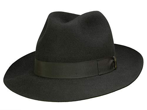 Borsalino Chapeau Fedora N° Art. 490002 Homme - noir