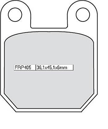 Ferodo Bremsbelag FRP 405 EF