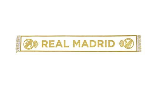 Echarpes Telar nº 14 Blanc Real Madrid - Produit Officiel so