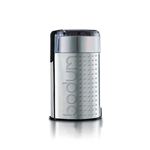 Bodum 11160-57EURO-4SS BISTRO Elektrische Kaffeemühle, 150 W, Edelstahl, Matt