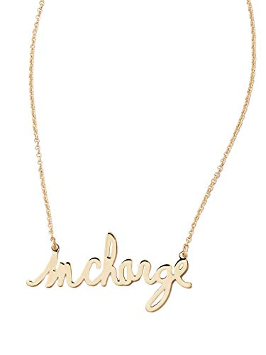 Diane von Furstenberg InCharge Gold Necklace, ONE Size
