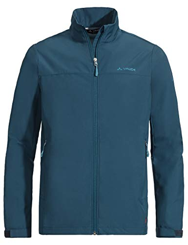 VAUDE Herren Jacke Men's Hurricane IV, Softshelle, baltic sea, 52, 413113345400