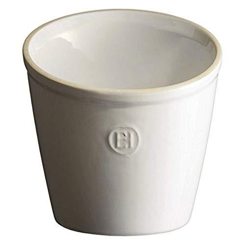 Emile Henry Made In France Utensil Pot/Utensil Holder, Flour White
