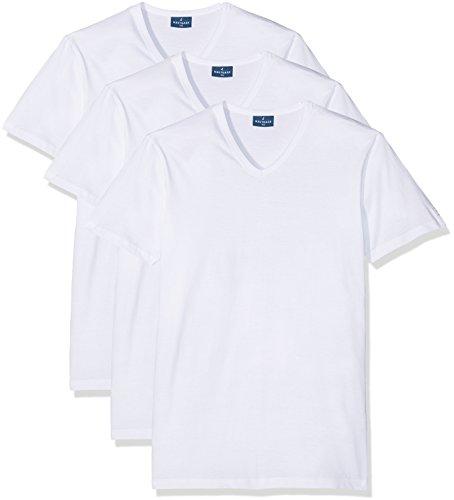 Navigare 512 Maglietta intima, Bianco, X-Large, Pacco da 3, Uomo