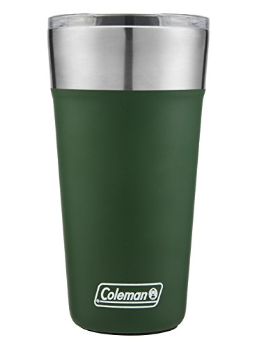 Coleman Brew Insulated Stainless Steel Tumbler, Heritage Green, 20 oz.