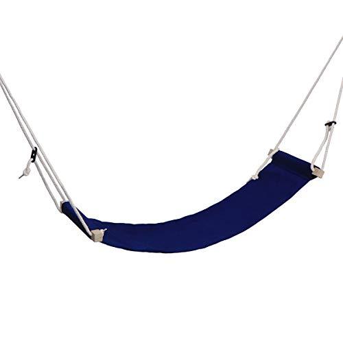 Healifty Repose-pieds réglable avec porte-parapluie Bleu foncé