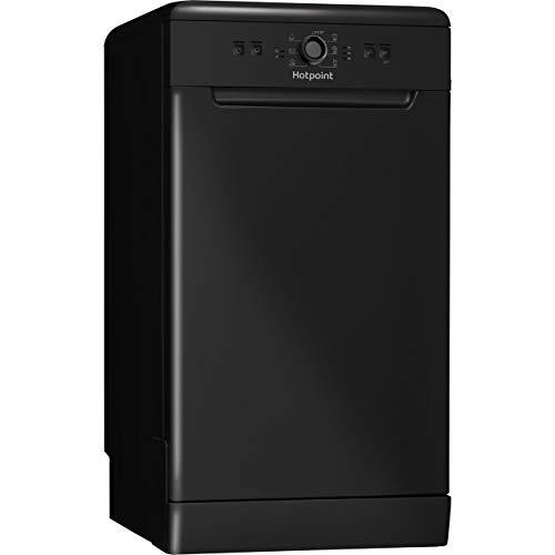 HOTPOINT HSFE1B19B Aquarius Slimline 10 Place Freestanding Dishwasher -...