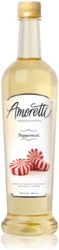 Amoretti Premium Syrup, Peppermint, 25.4 Ounce