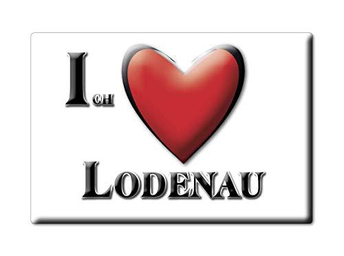 Enjoymagnets LODENAU (SN) Souvenir Deutschland Sachsen Fridge Magnet KÜHLSCHRANK Magnet ICH Liebe I Love