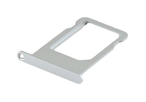 ICONIGON Ersatz für iPhone 5s / SE SIM-Kartenhalter (Silber)