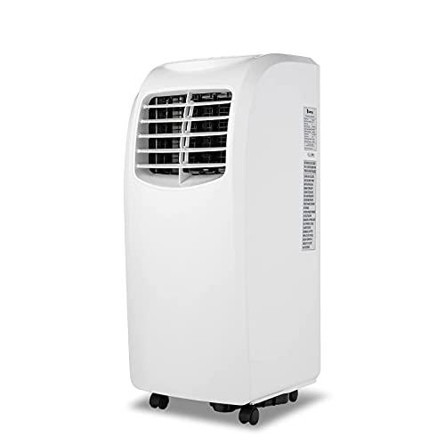 JHTD Tragbarer Klimaanlagenlüfter, Mobile Klimaanlage, Schnelle Kühlung Mit Universalrädern, Großer Wassertank, Mit Unabhängiger Entfeuchtungsfunktion, Heim- Oder Bürogebrauch