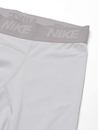 Nike Men's Baselayer Therma Tight, White/Vast Grey/Black, XX-Large