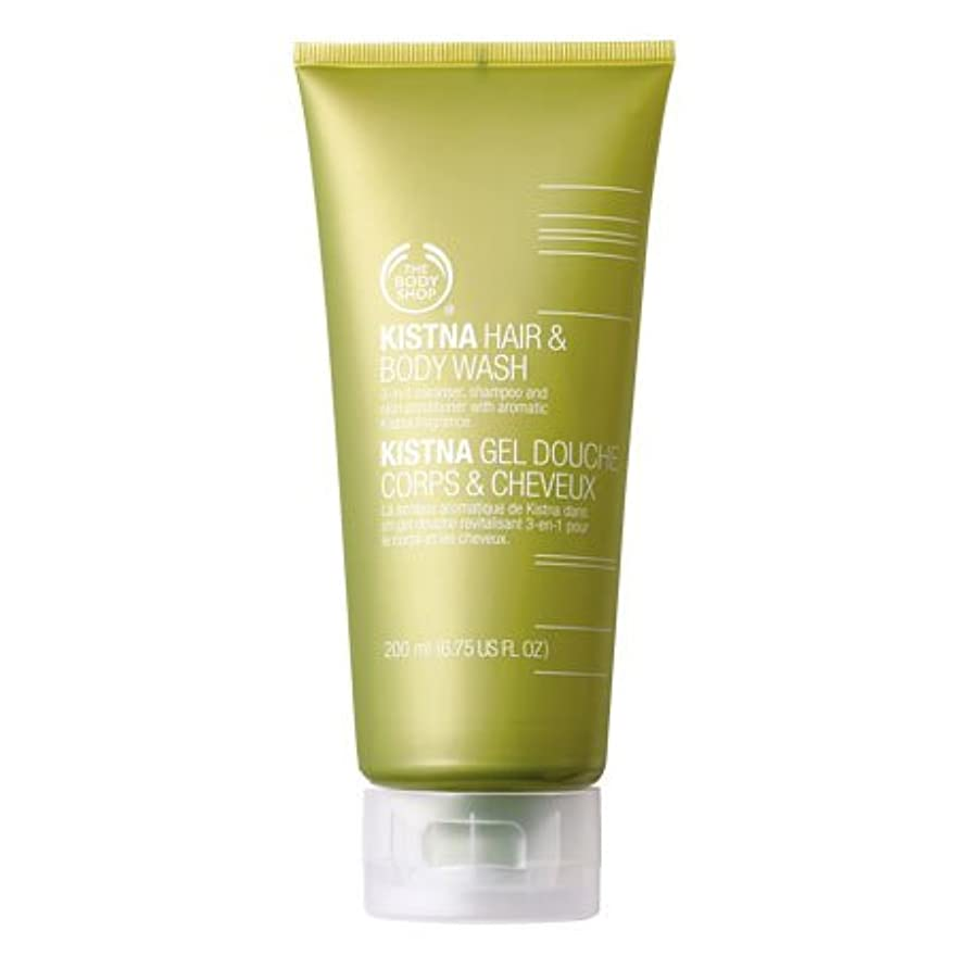 乱れペック赤ちゃんThe Body Shop Kistna Hair & Body Wash - 6.75 Fl oz(200ml)