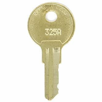 Hudson Lock 325A Replacement Key 2 Keys