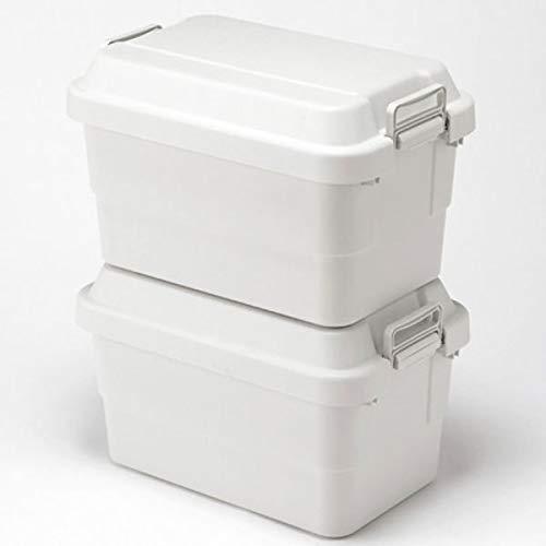 無印良品 ポリプロピレン頑丈収納ボックス・大 約50L 37525986 お得なまとめ買い 2個セット