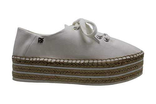 DKNY Femmes Chaussures De Sport A La Mode Couleur Blanc White 1 Taille 41 EU / 9