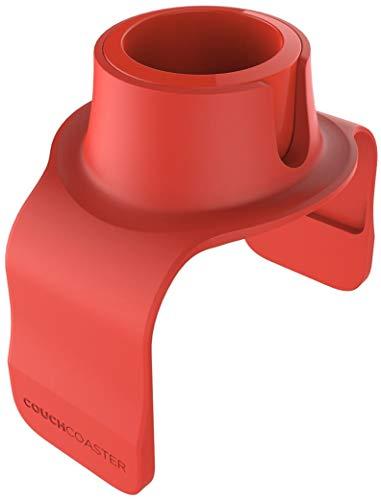 COUCHCOASTER - el Posavasos definitivo de Bebidas para su sofá, Rojo Rosso