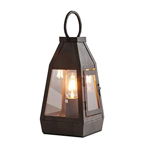 Hai Ying nostalgische nostalgie retro wandlamp wandlamp in landelijke stijl Amerikaanse stijl tafellamp lantaarn van smeedijzer