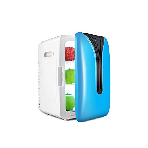 Portable Mini koelkast 12v 220v, Electric Cool Box Car koelkast, 20L Capacity auto en thuis for tweeërlei gebruik een warm en koud for tweeërlei gebruik Silent Design (Kleur: wit) LOLDF1