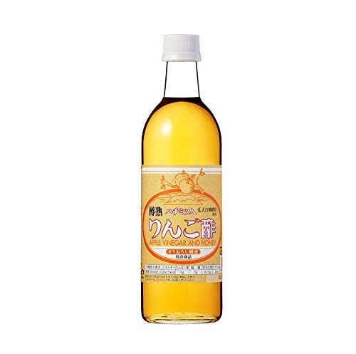 カネショウ株式会社 ハチミツ入りんご酢 500ml アップル