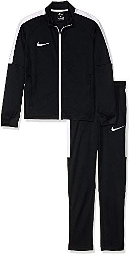 Nike 844714 Dry acdmy TRK Suit KTuta da ginnastica da bambini, Nero (Black / White / White), XS