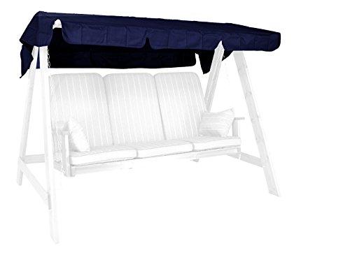 Angerer Tetto del Dondolo 193 x 130 cm, qualità Swingtex, Colore Blu
