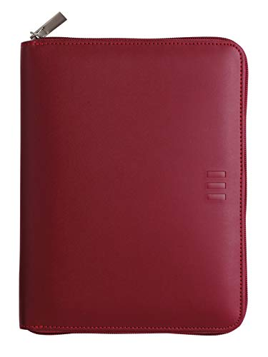 Finocam – Diary 2022 1 Day Page, from January 2022 to December 2022 (12 months) 1000 – 155 x 215 mm Open Zip Organiser Burgundy Spanish
