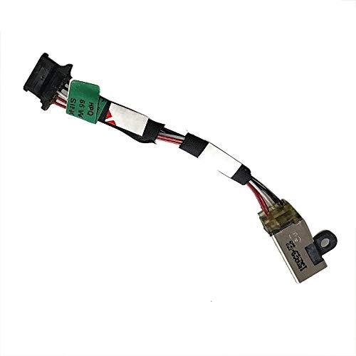 Gintai Reemplazo del arnés de cables CC para HP Pro X2 612 1011 G1 775490-TD1 775490-FD1 775490-SD1