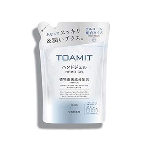 TOAMIT 東亜産業 ハンドジェル つめかえ用 500ml AL500