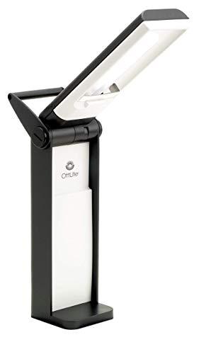 OttLite L139AB 13 Watt Desk Lamp with Swivel Base, Black (Renewed)