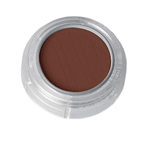 Grimas Lidschatten/Rouge, Döschen 2g, Farbe 565 Dunkelbraun, Profi-Make-Up, hochpigmentiert