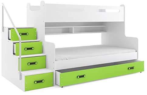 MDF-Platte Möbelplatte drei Etagenbettrahmen,B