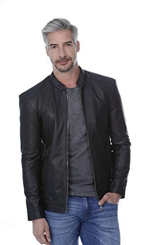 Jaqueta De Couro Legítimo Slim 130