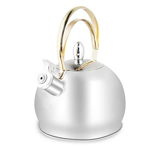 3 Litre Stainless Steel Whistling Kettle Fast Boil Kitchen Home Tea Hot Drink Camping Fishing for Gas Electric Halogen Ceramic Hob,Best Whistling Tea Kettle