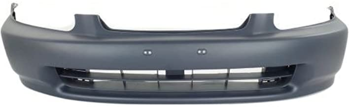 Go-Parts OE Replacement for 1996 - 1998 Honda Civic Front Bumper Cover 04711-S01-A00ZZ HO1000172 Replacement For Honda Civic