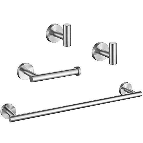 Top 10 best selling list for brushed nickel toilet paper holder and towel rack