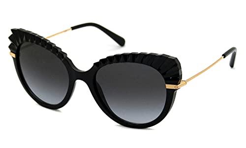 Dolce & Gabbana occhiale da sole DG6135 501/8G BLACK Nero grigio taglia 53 mm Donna