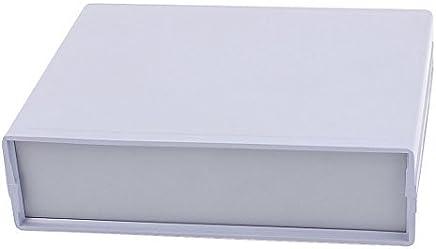 eDealMax plástico caja eléctrica caja de la caja Junction 152mm x 120mm x 42mm