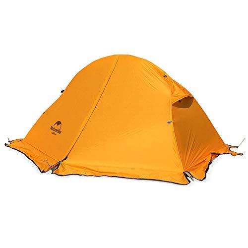 Azarxis 1-2 personen ultralichte tent, 3 seizoenen, waterdicht, dubbellaags, voor outdoor, camping, wandelen