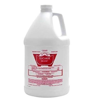 Lucasol One Step Hospital Grade Disinfectant – Gallon