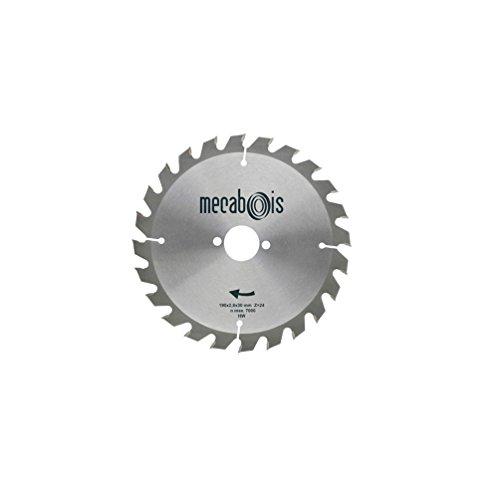 Sidamo - Lame carbure SILERGIE I D.180 x 2,8 x 20 mm Z 24 Alt. - Bois/Isolants - 901048 - Sidamo