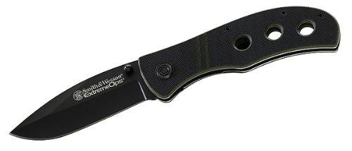 Smith and Wesson Einhandmesser, Extreme Ops CKG105, Stahl 440 A, G-10-Schalen, Clip