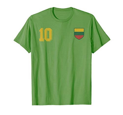 Lithuania or Litauen Fußball or Football Soccer Trikot  T-Shirt