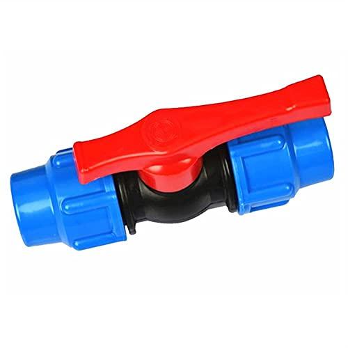 Valvola 20/25/32/40/50/63 mm Tubo dell'Acqua in plastica Connettore rapido per valvole Tubo in PE Accessori per valvole a Sfera