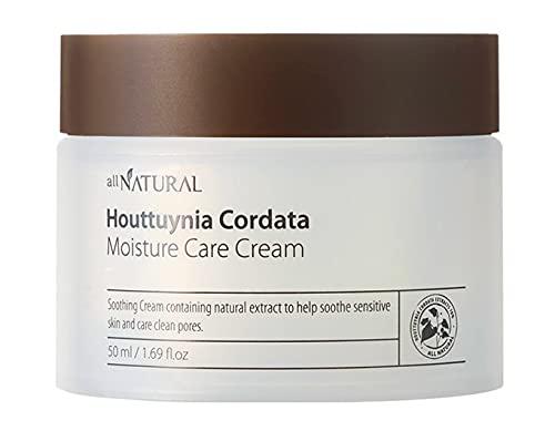 Crema hidratante Houttuynia Cordata de 50 ml, hidratante para el cabello, de K-Beauty.