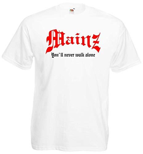 Mainz Herren T-Shirt You`ll Never Walk Alone